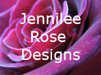 cropped closeup of a rose with Jennilee Rose Designs text over it.